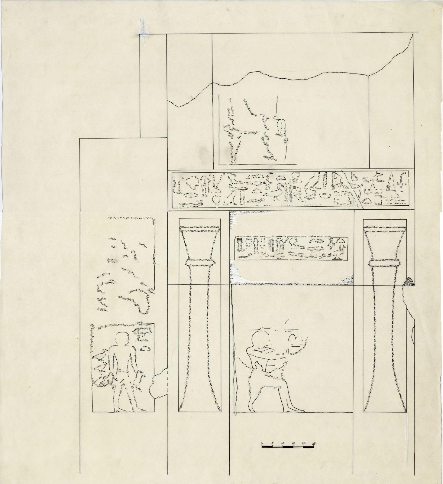 Drawings: G 7210-7220: G 7220: chapel, niche