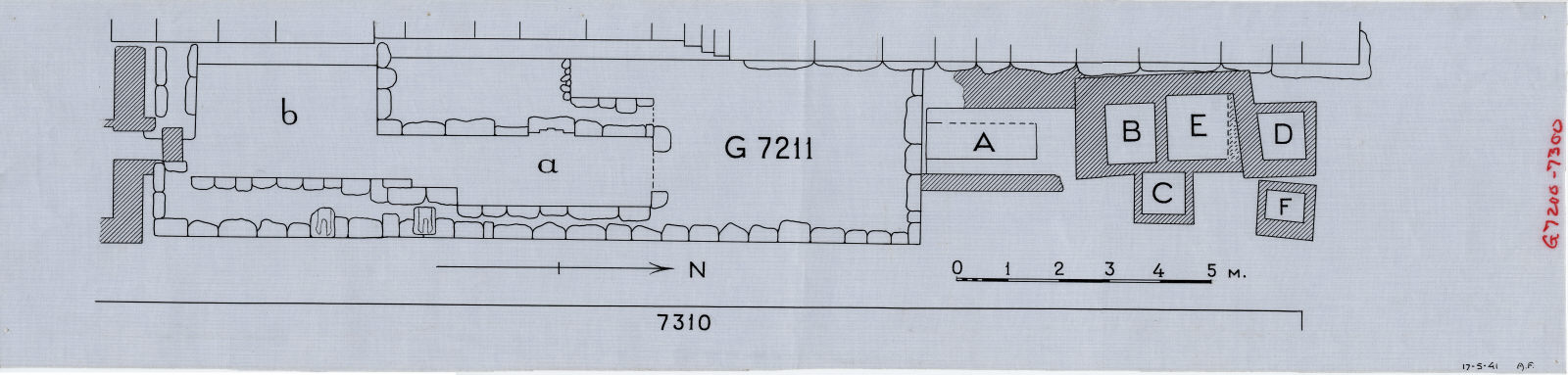 Maps and plans: G 7211, Plan