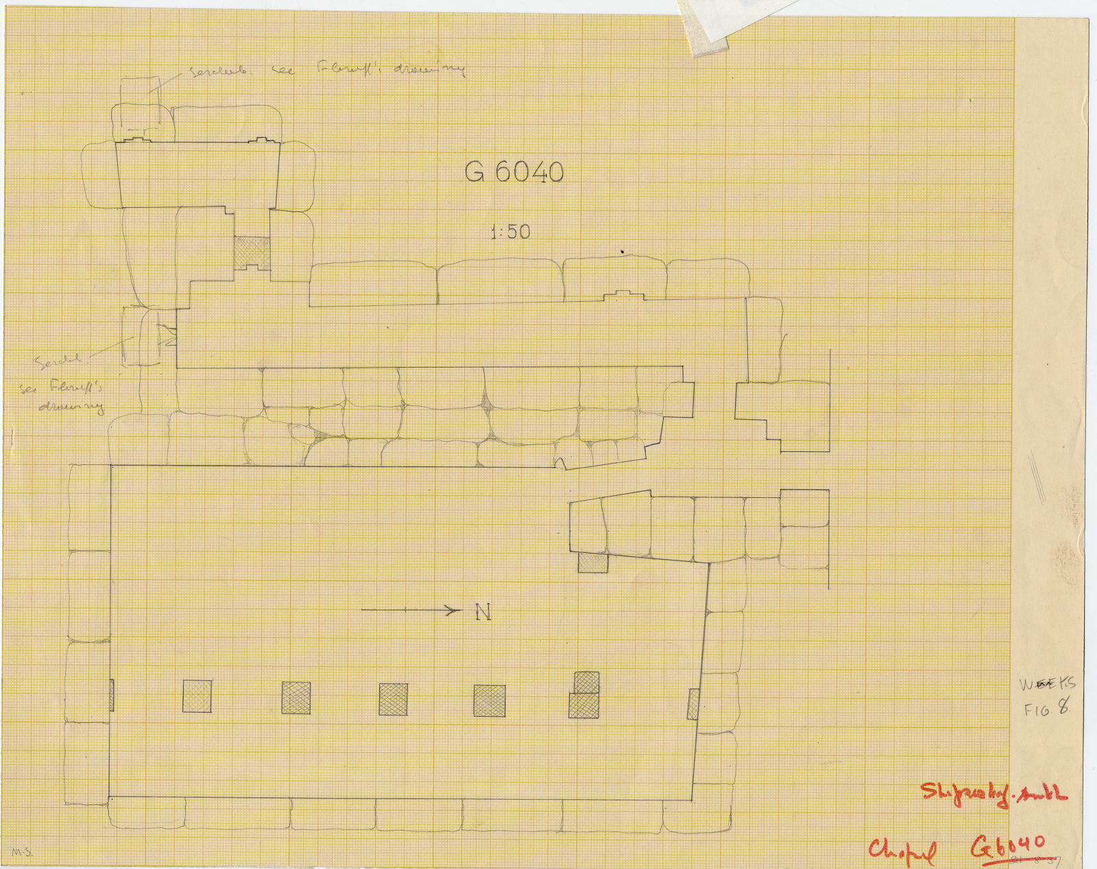 Maps and plans: Sketch plan of G 6040