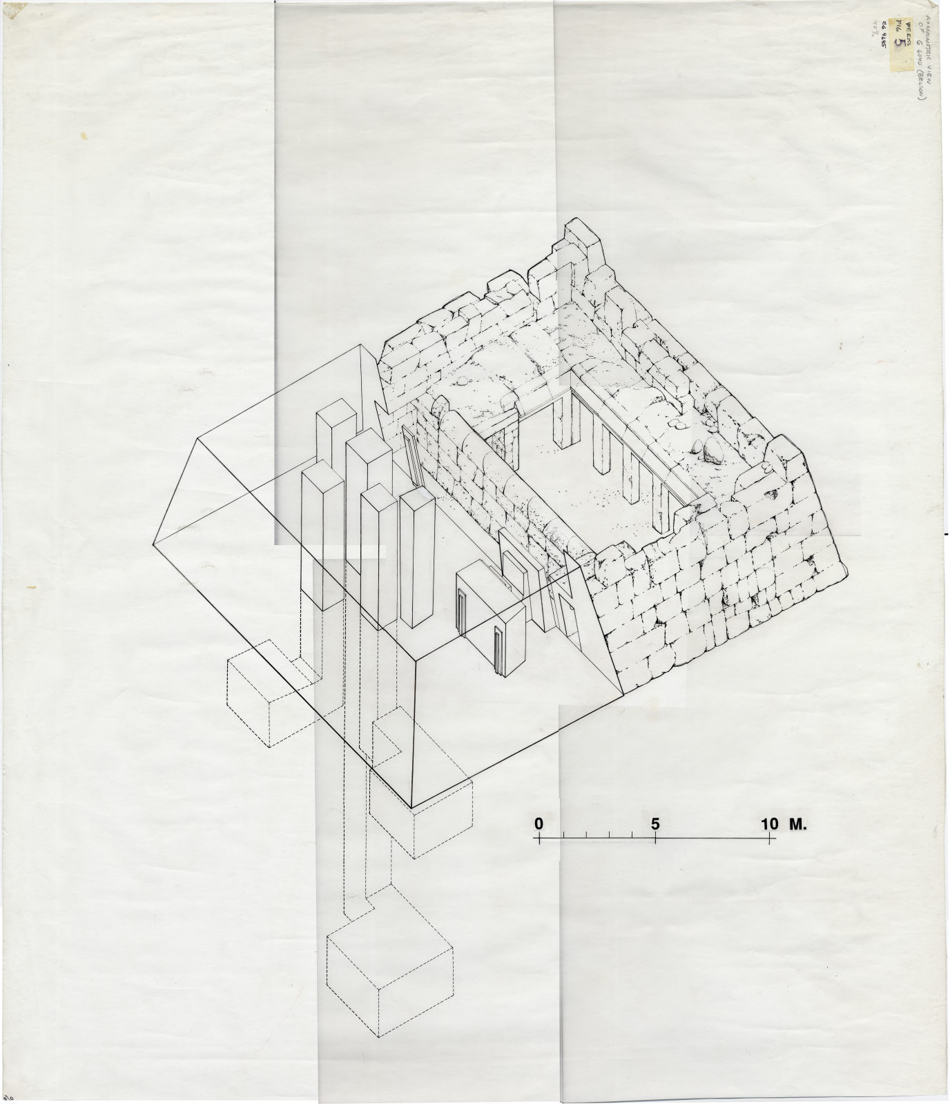 Maps and plans: G 6040: axonometric view