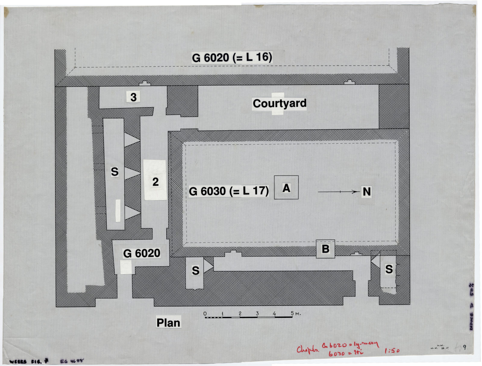 Maps and plans: G 6020, Plan