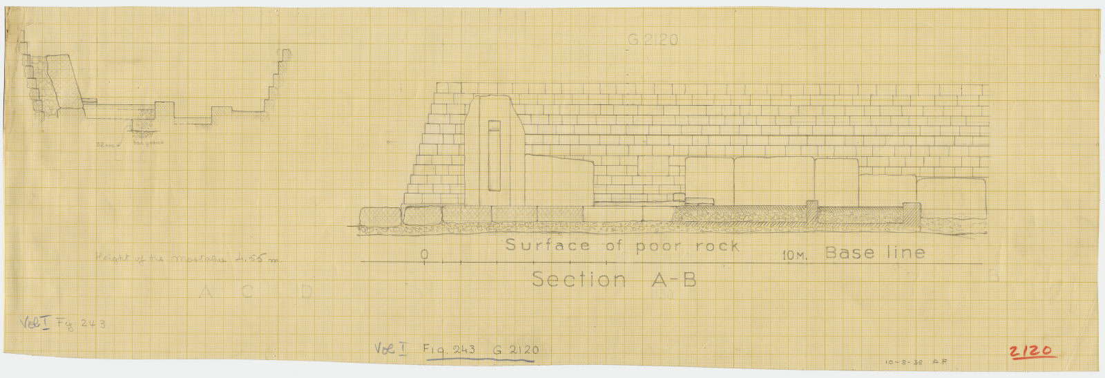 Maps and plans: Section of G 2120