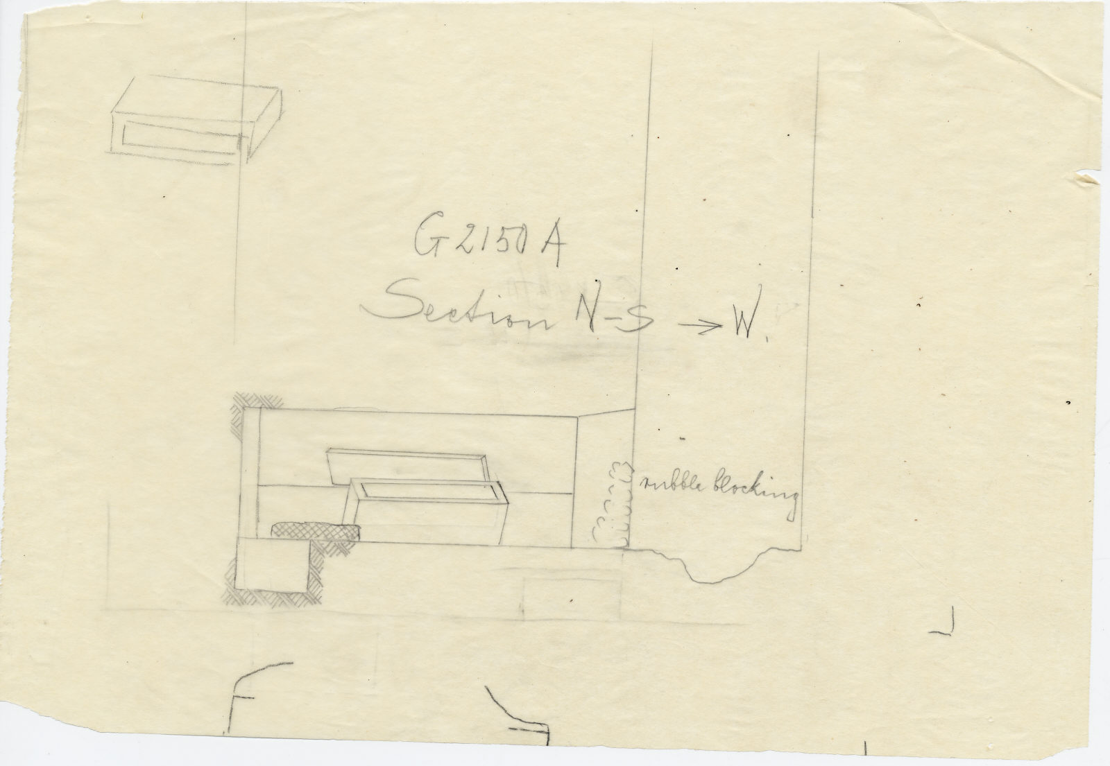 Drawings: G 2150, Shaft A