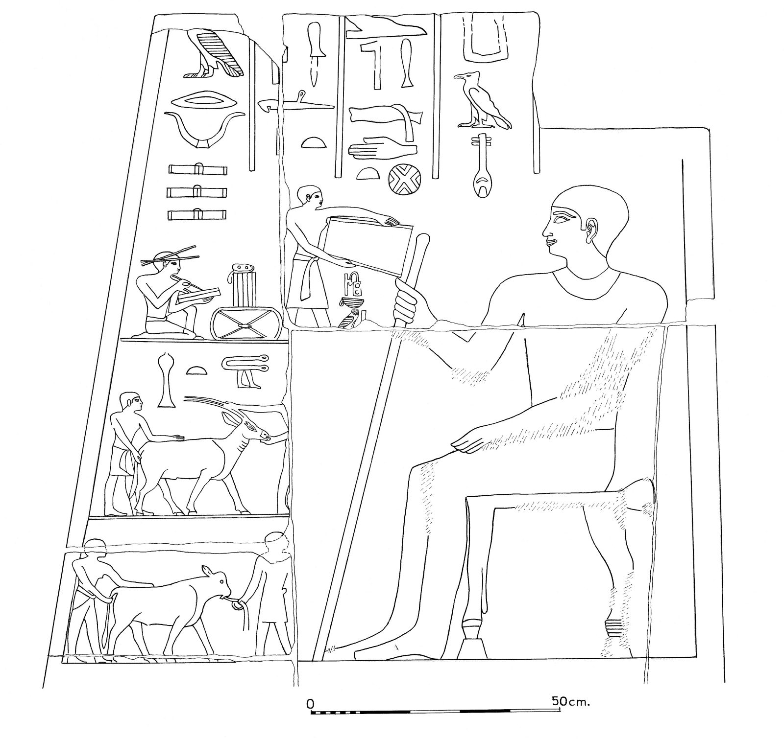 Drawings: G 2150: relief from entrance, S jamb