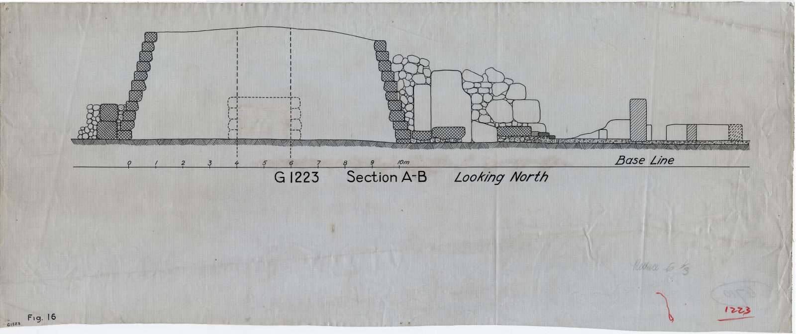 Maps and plans: Section of G 1223