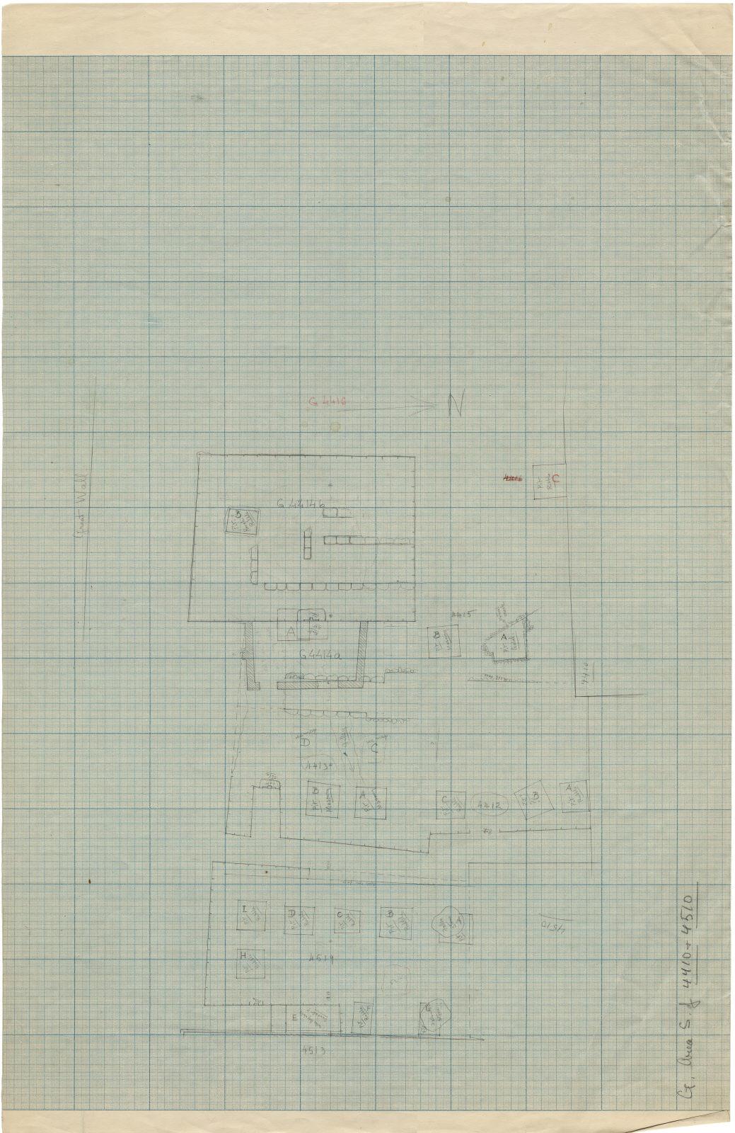 Maps and plans: Plan of G 4410, G 4412, G 4413, G 4414, G 4415, G 4416, G 4510, G 4513, G 4519
