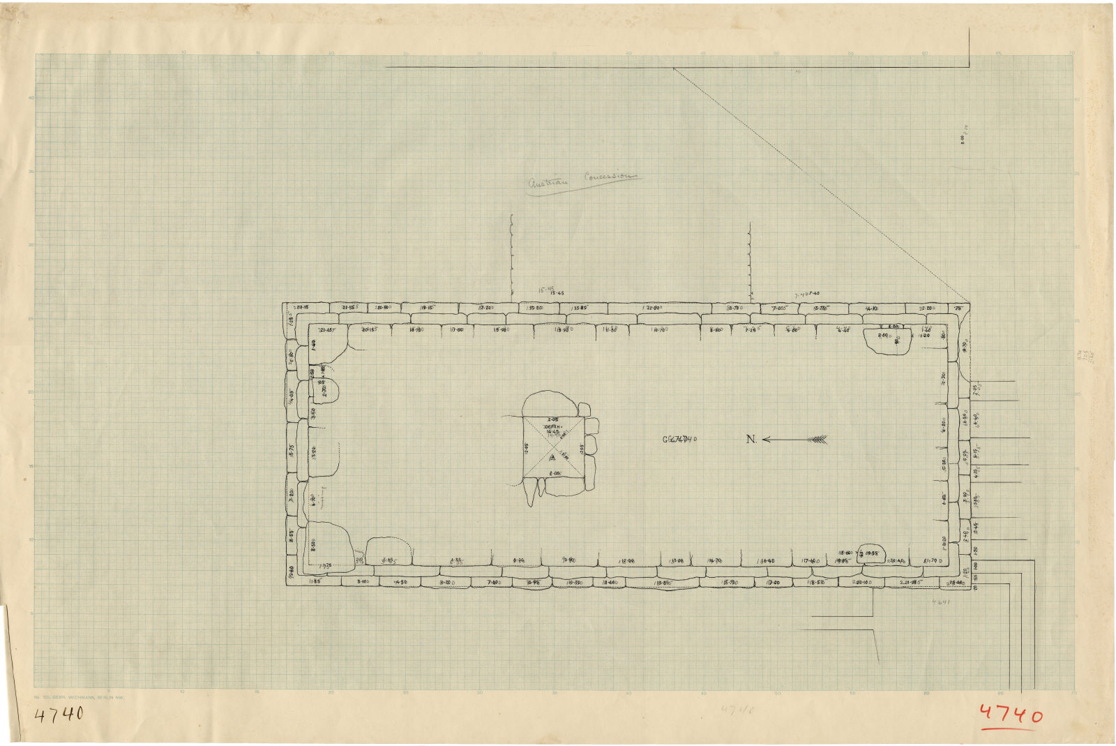Maps and plans: G 4740, Plan