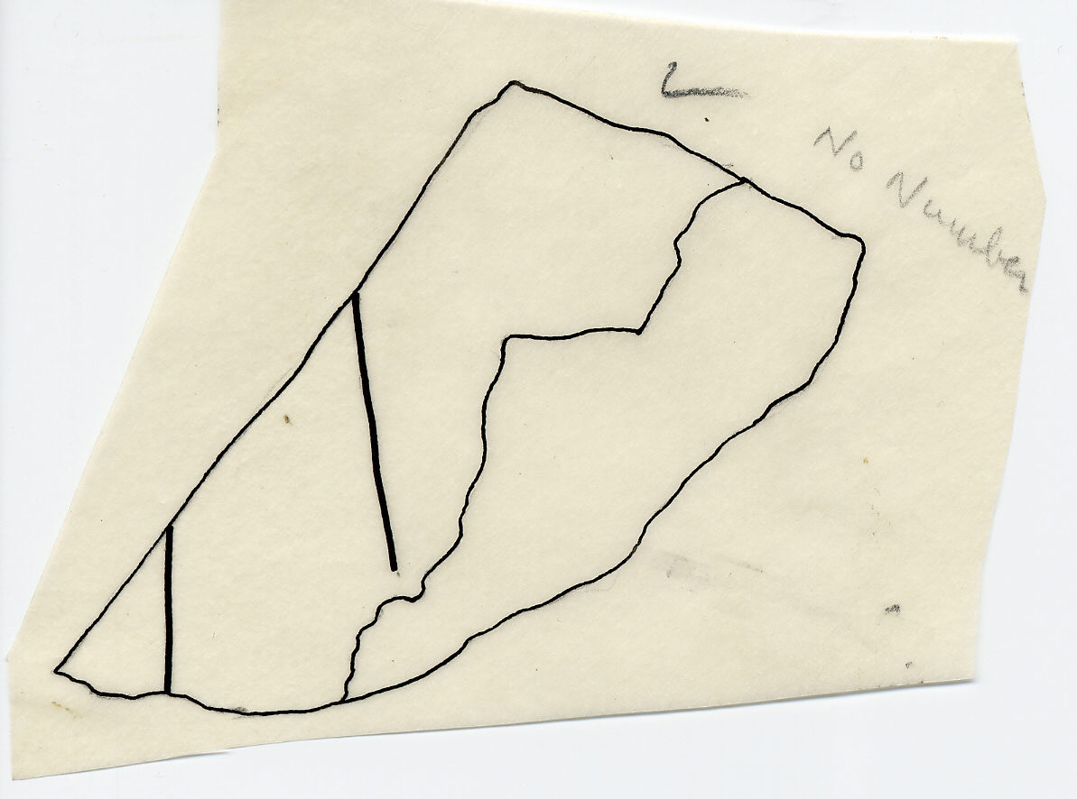 Drawings: G 7510 (?): relief fragment