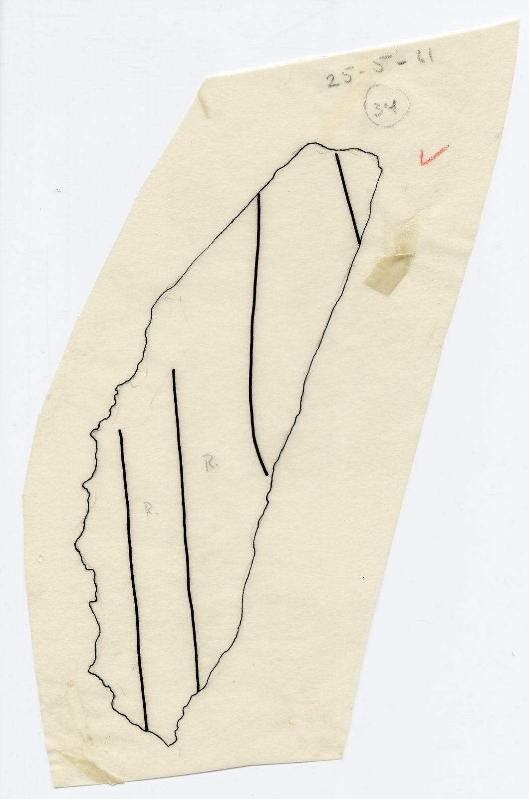 Drawings: G 7510: relief fragment