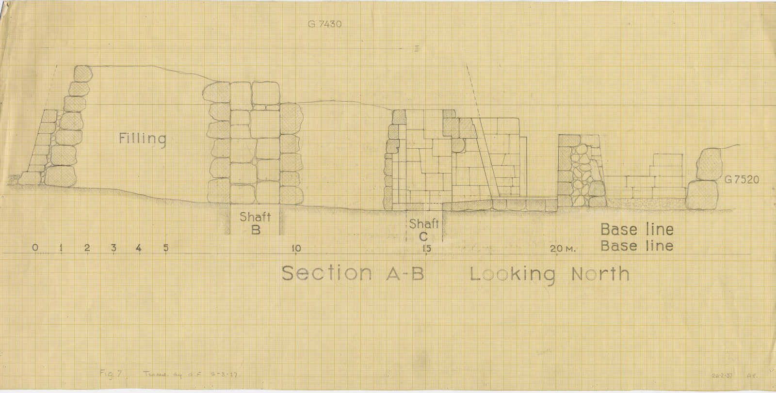 Maps and plans: Section of G 7430