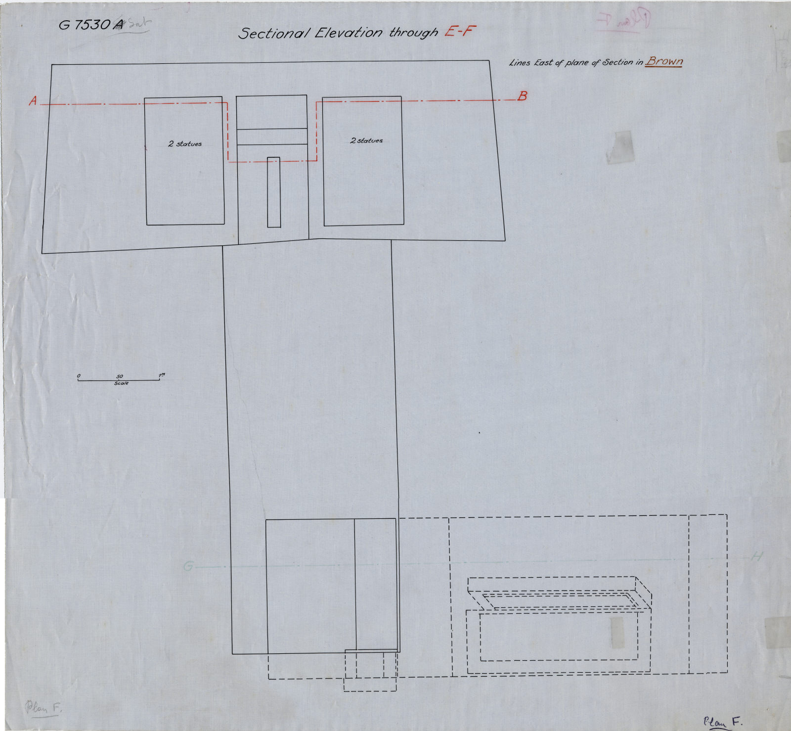 Maps and plans: Section of G 7530