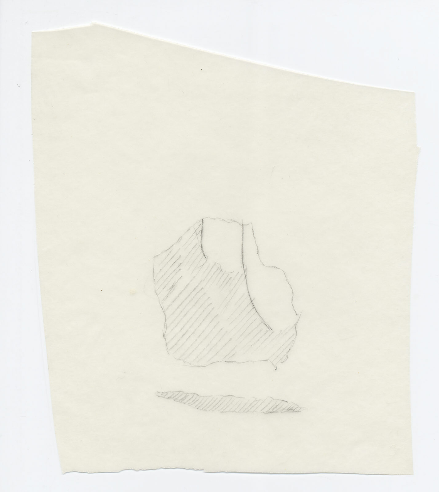 Drawings: Cemetery G 7000 (?): fragment of relief