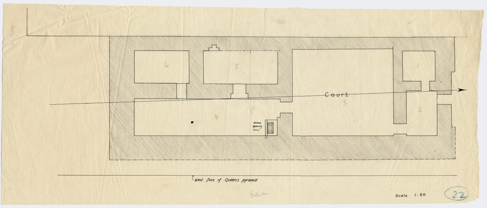 Maps and plans: G III-b Temple, Plan