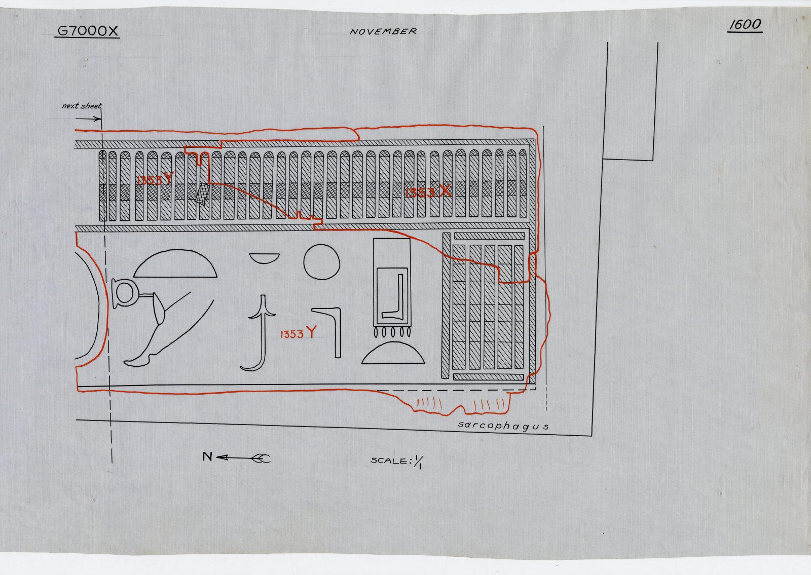 Drawings: G 7000 X: inlaid board