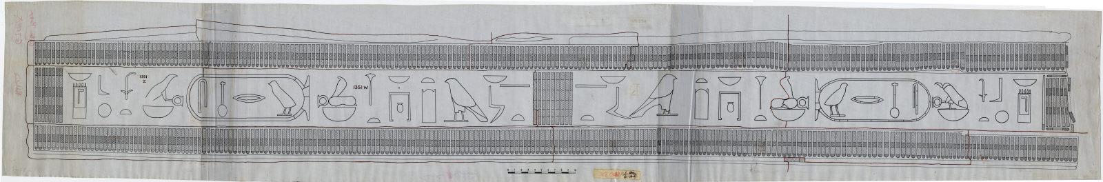 Drawings: G 7000 X: curtain box
