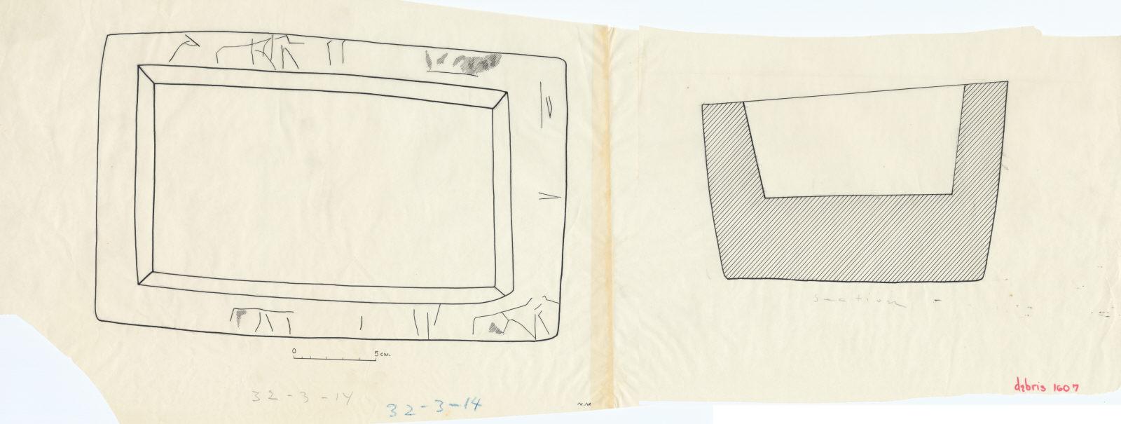 Drawings: G 1607: offering basin of Ian