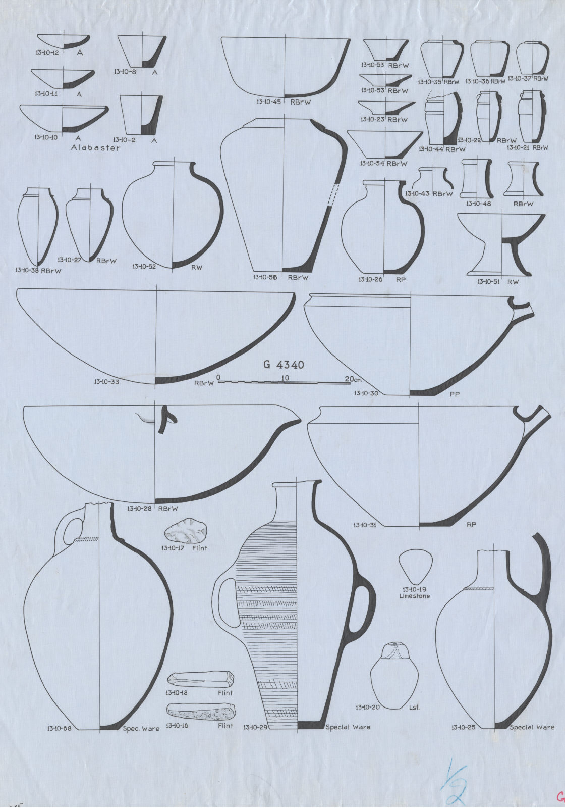 Drawings: G 4340: objects