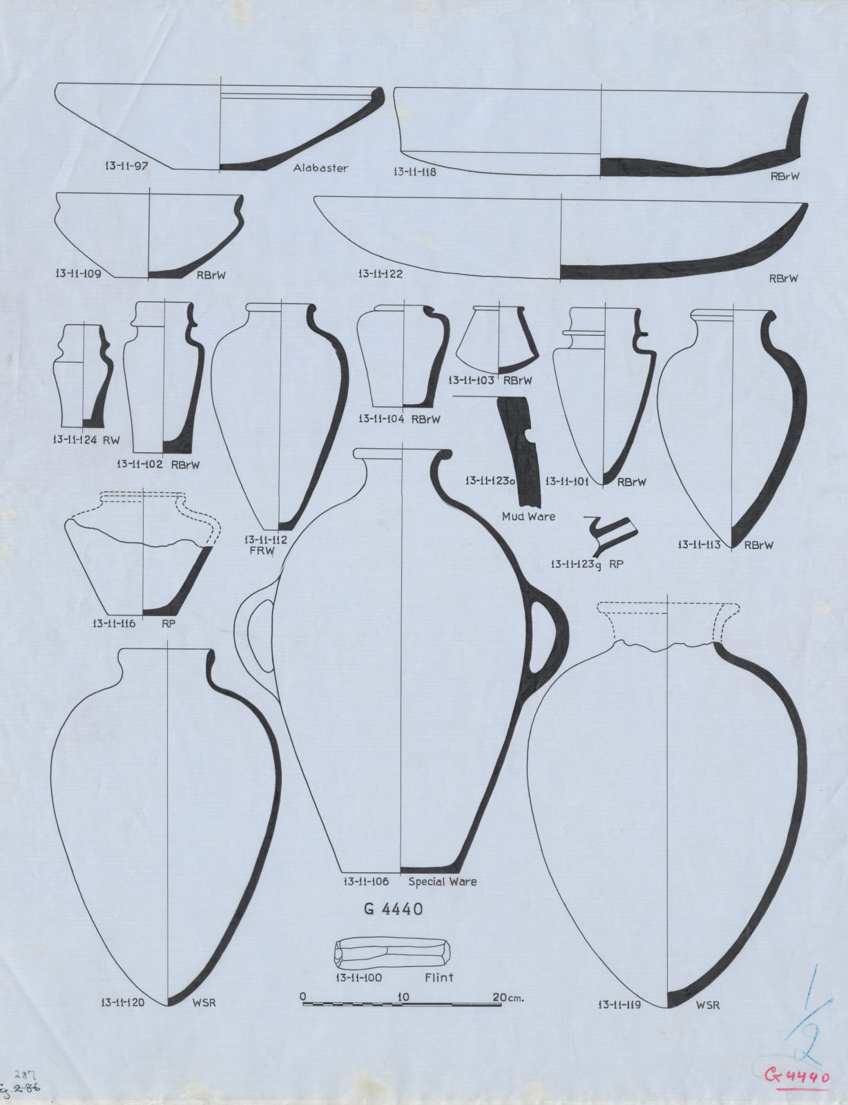 Drawings: G 4440: objects