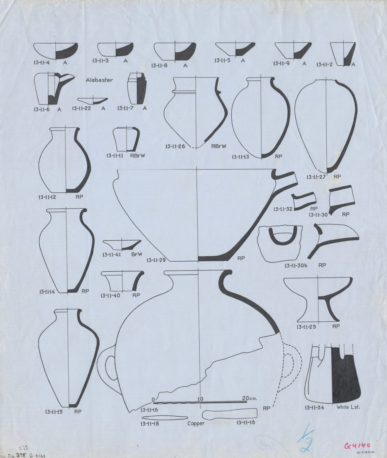 Drawings: G 4140: objects