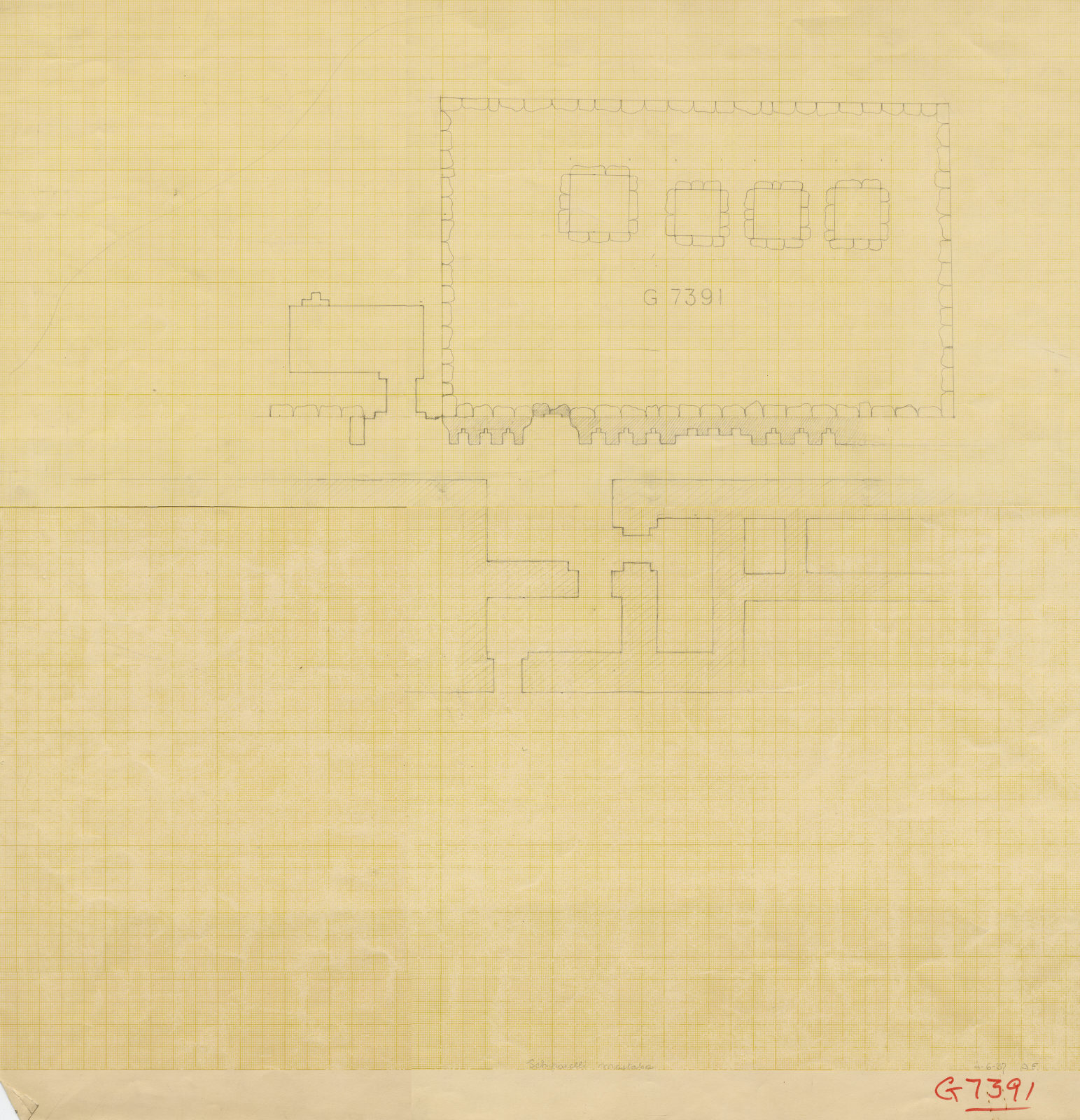 Maps and plans: G 7391, Plan