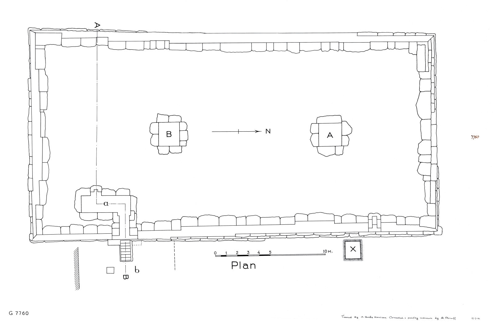 Maps and plans: G 7760, Plan
