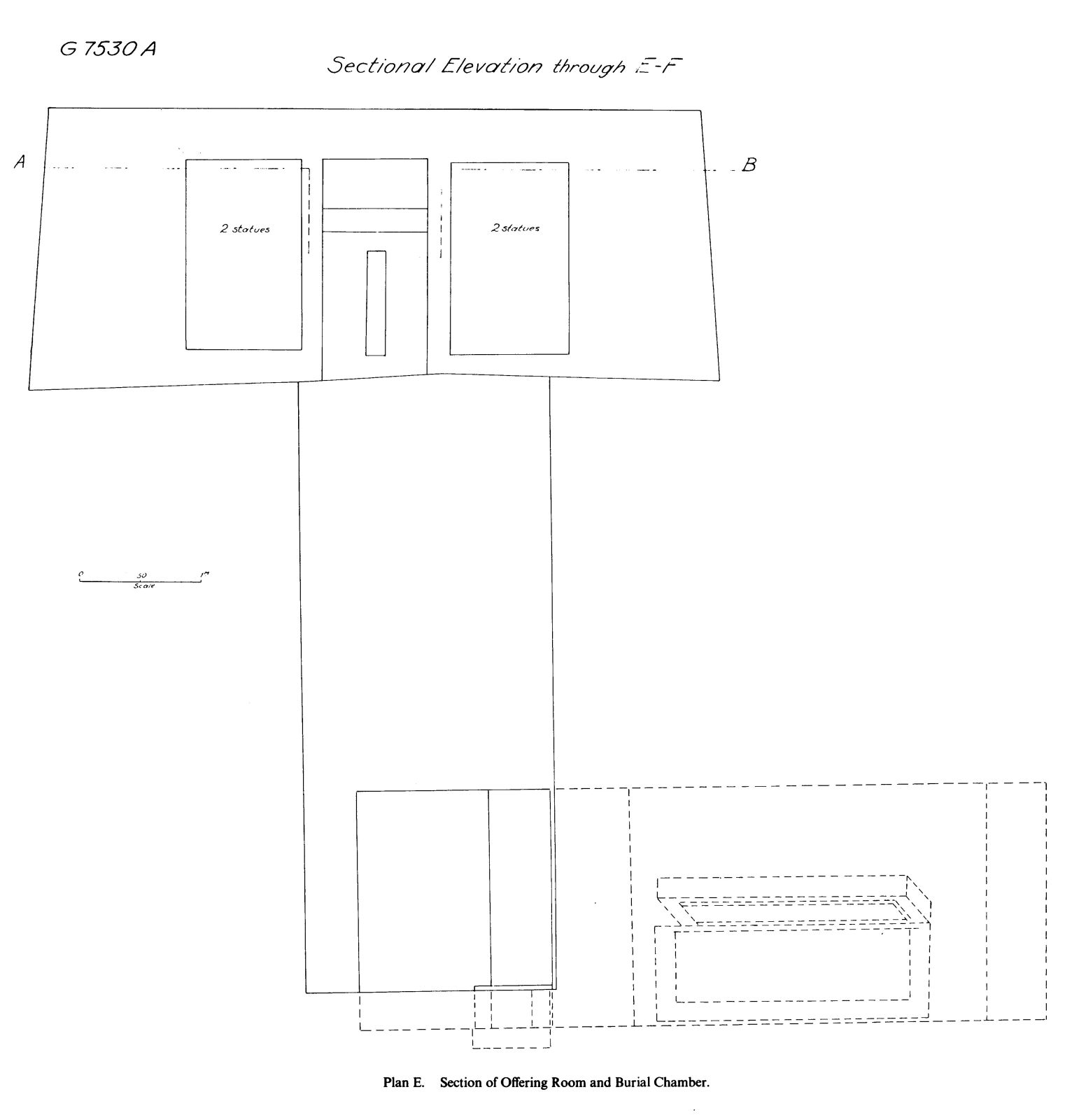 Maps and plans: G 7530-7540, Schematic section