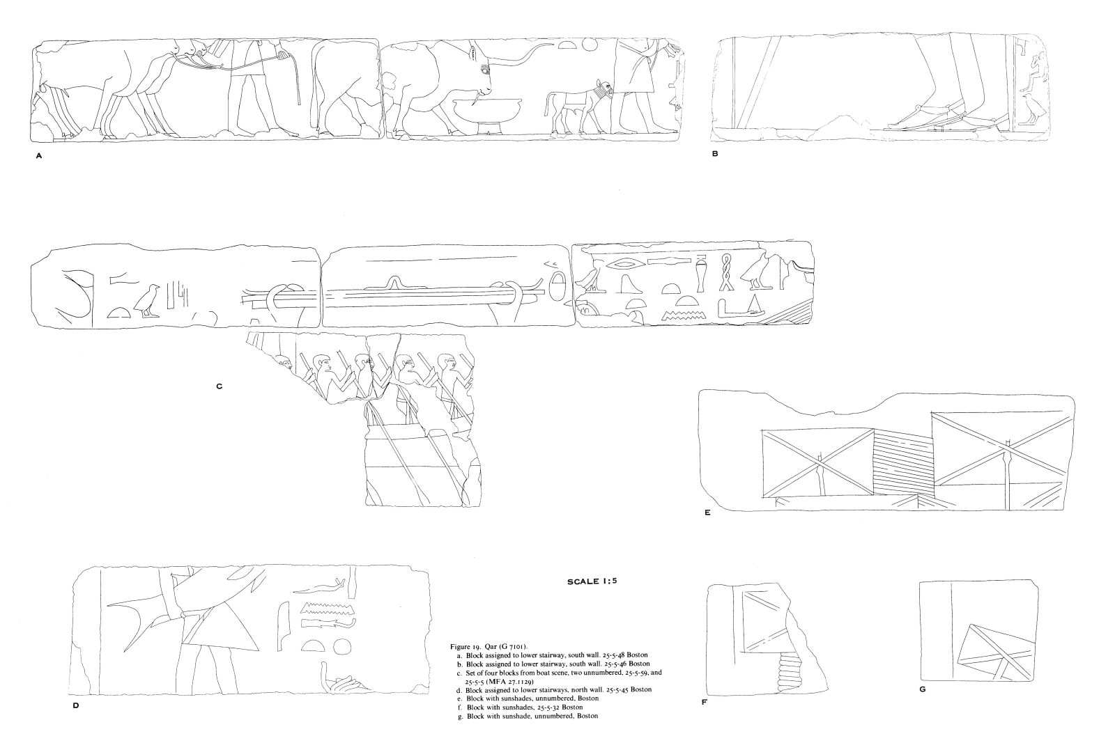 Drawings: G 7102: relief from blocks