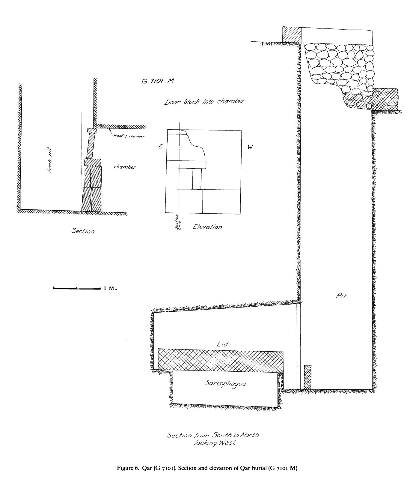 Maps and plans: G 7101, Shaft M