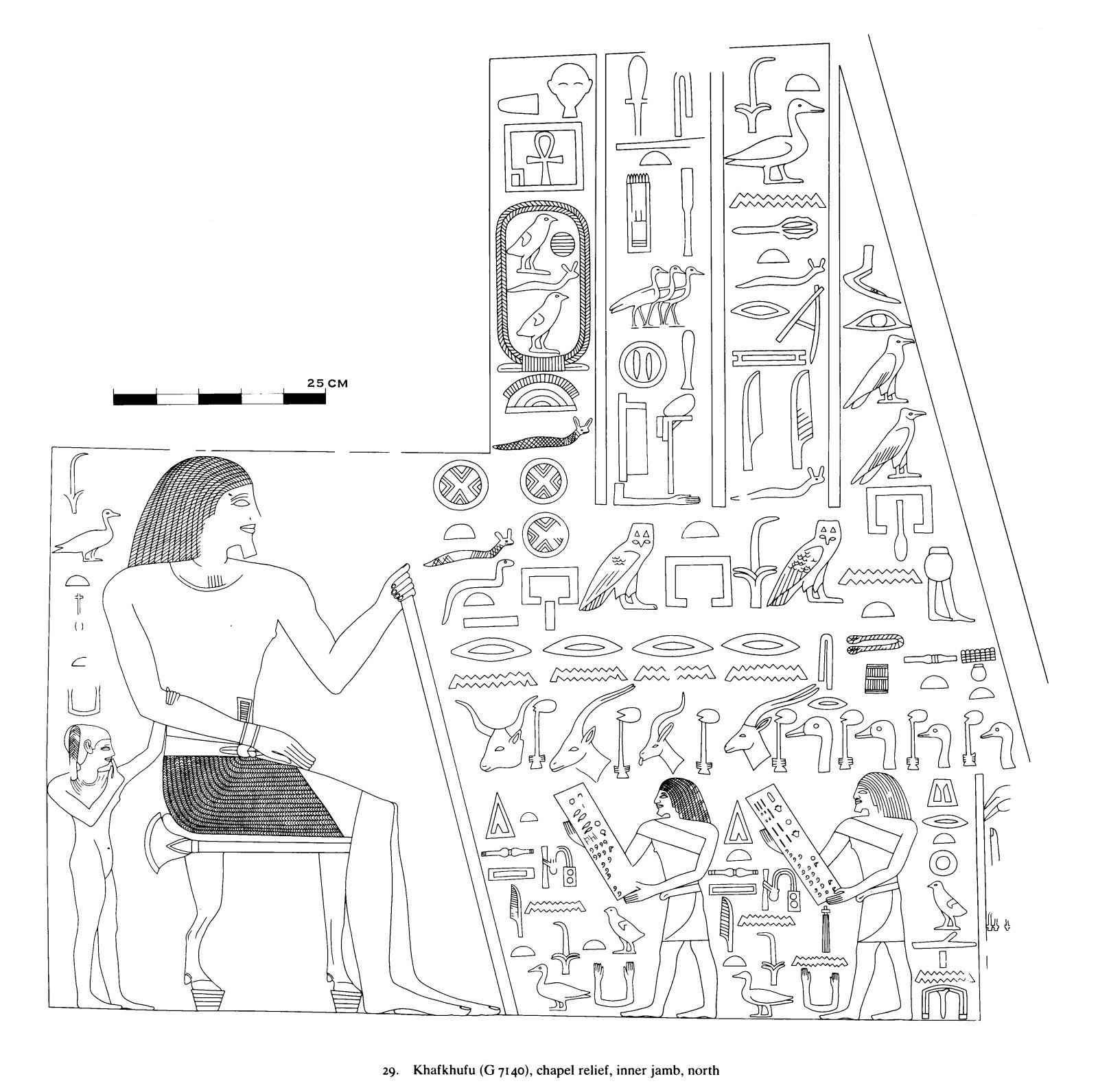 Drawings: G 7140: relief from chapel, inner jamb