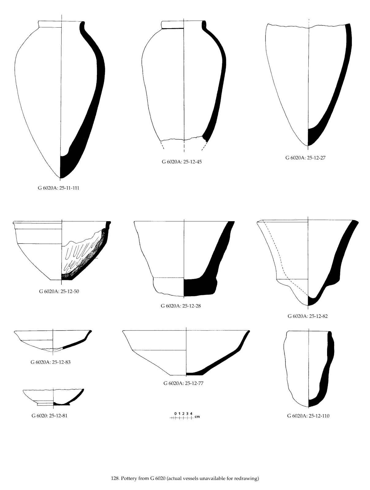 Drawings: G 6020: pottery
