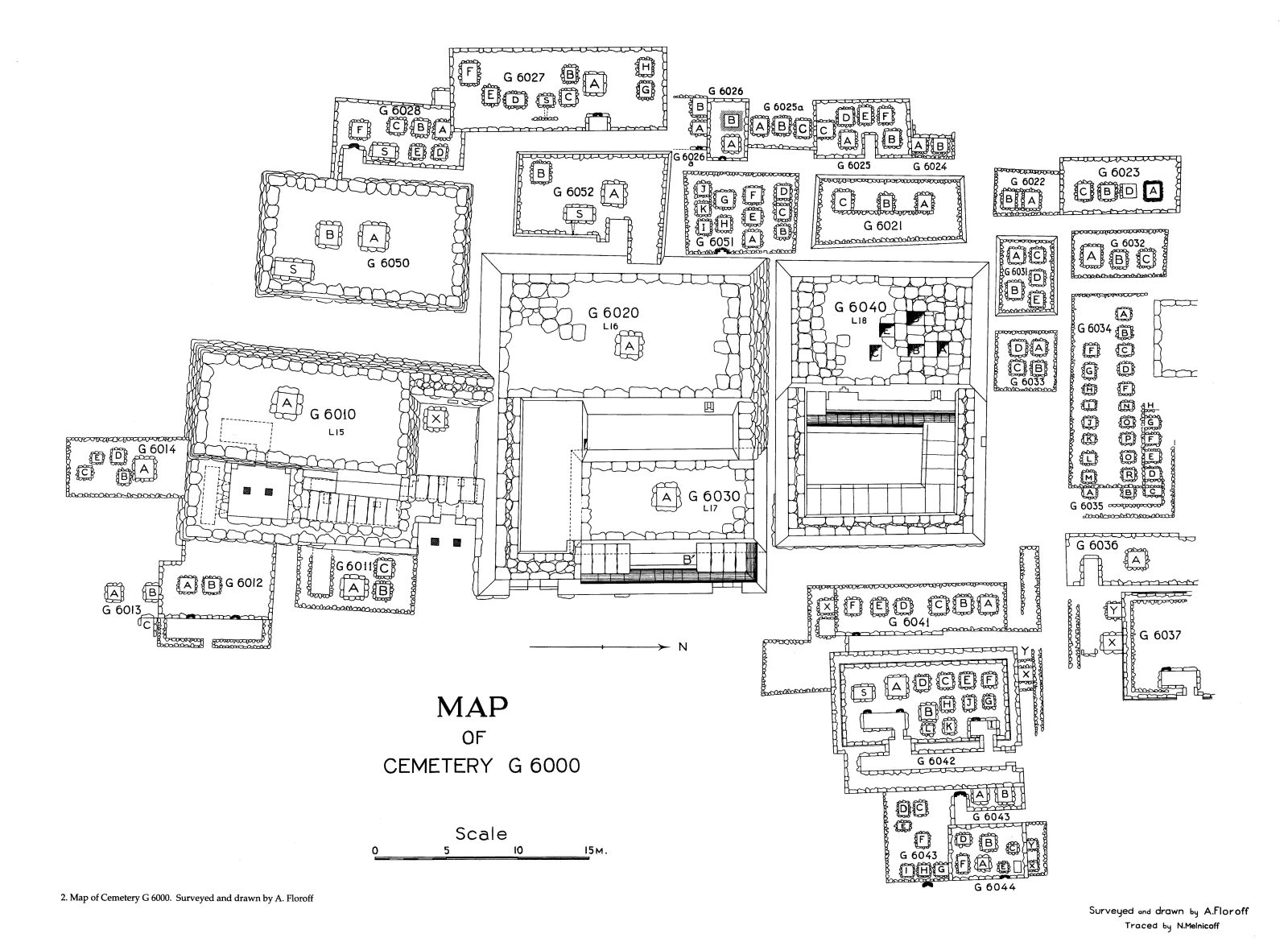 Maps and plans: Plan of Cemetery G 6000