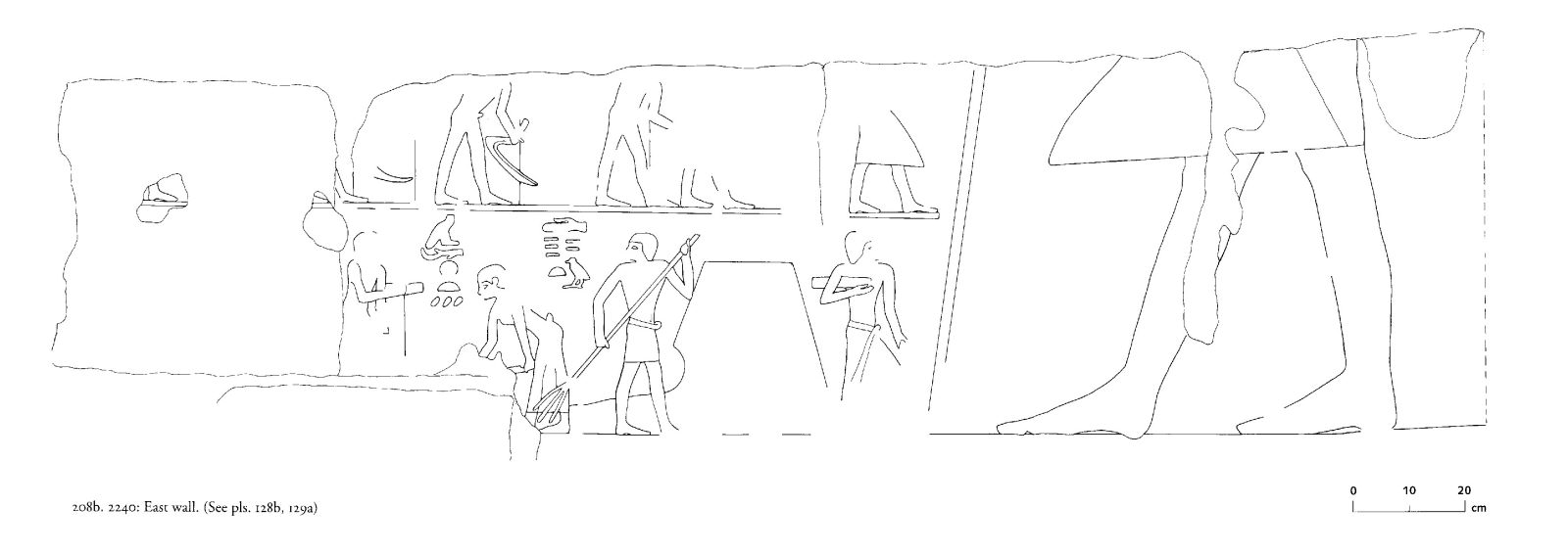 Drawings: G 2240: relief from E wall