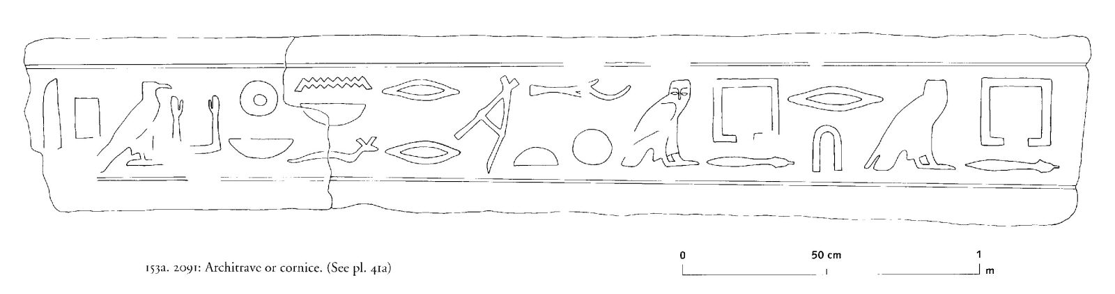 Drawings: G 2091: relief from architrave or cornice