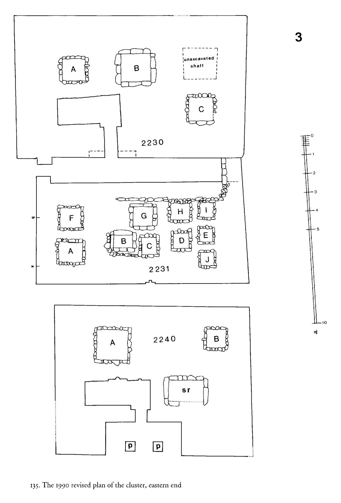 Maps and plans: Plan of G 2230+G 2231 and G 2240