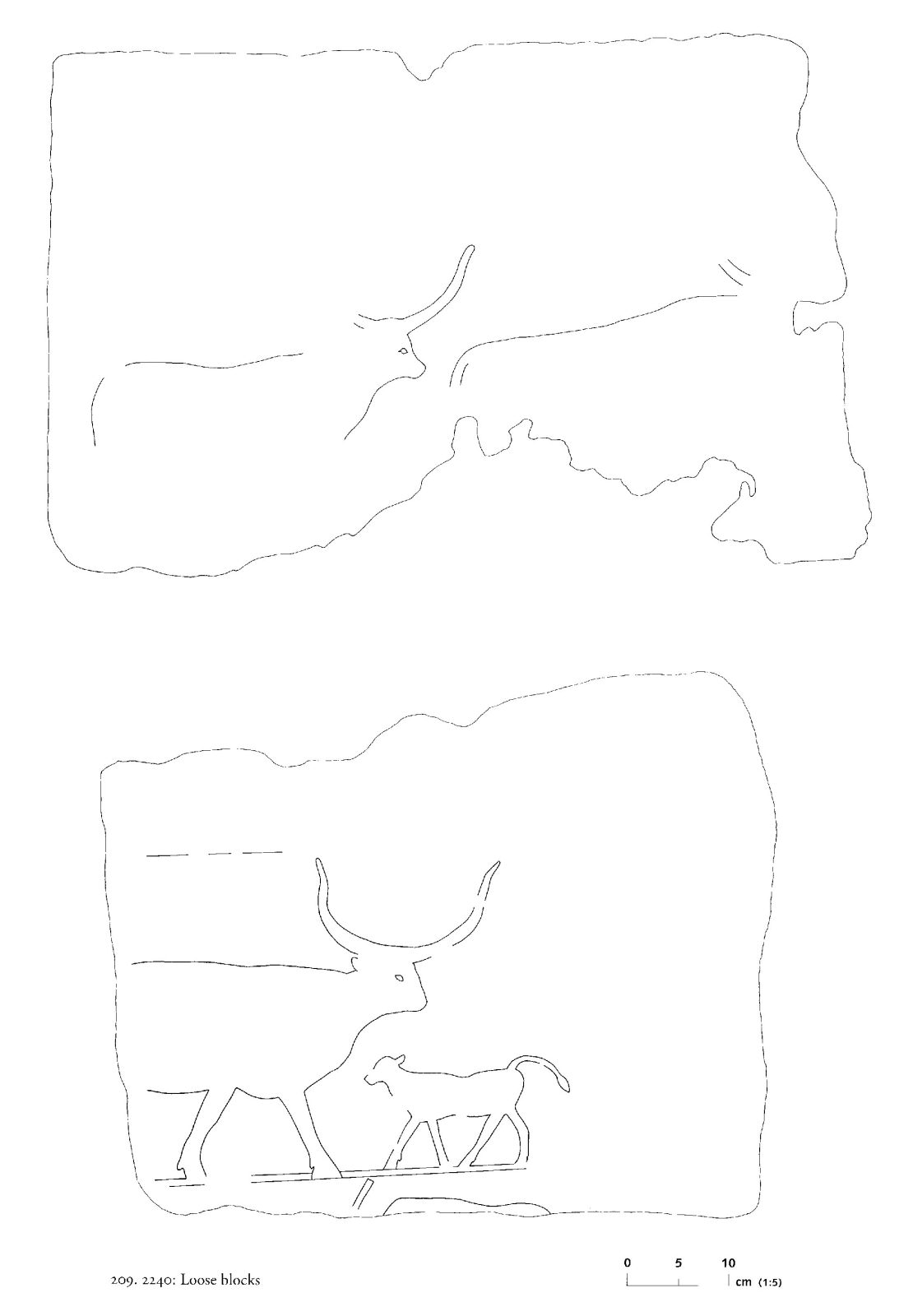 Drawings: G 2240: relief from loose blocks