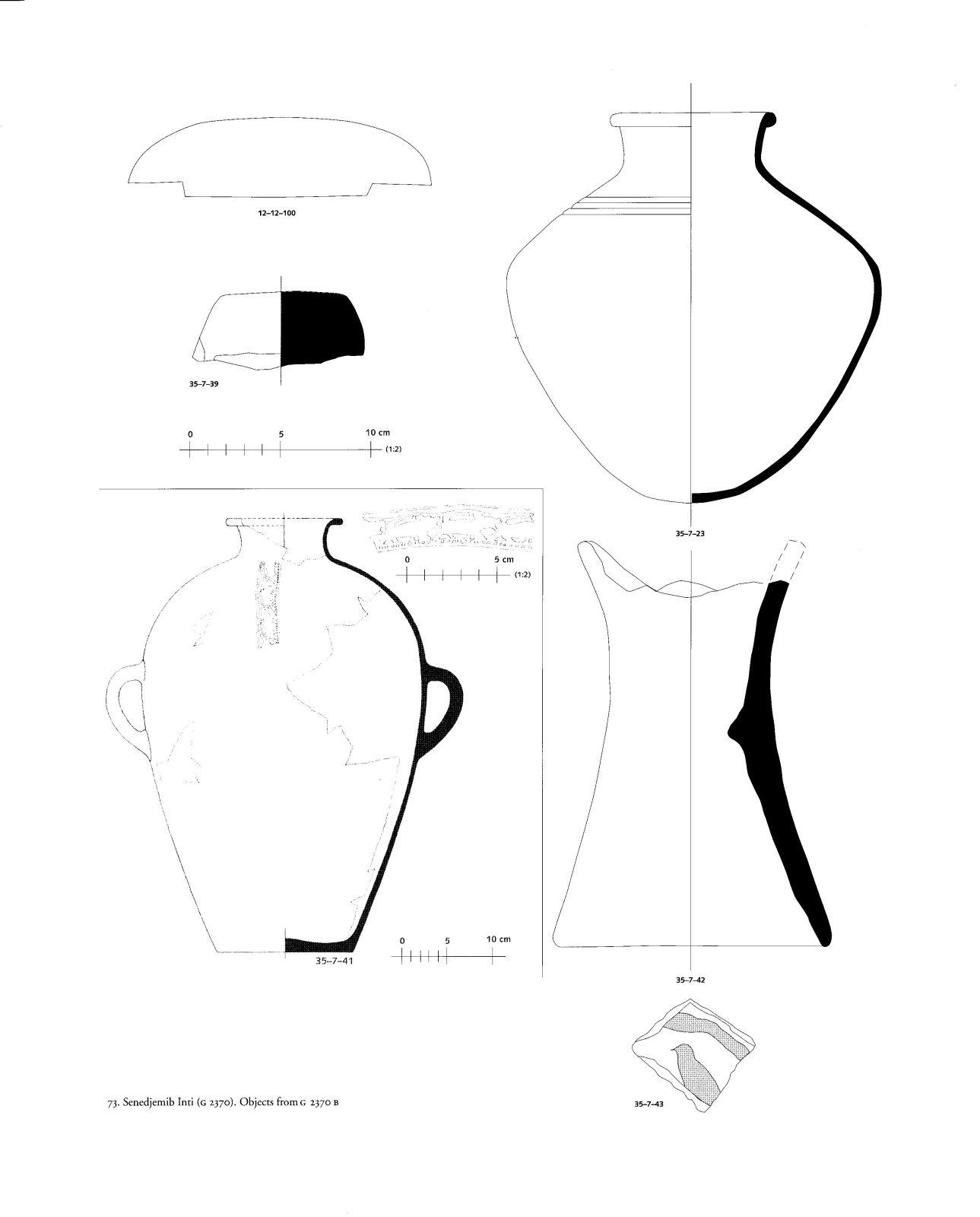 Drawings: G 2370, Shaft B: objects