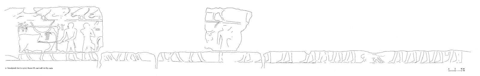 Drawings: G 2370: relief from Room III, E wall