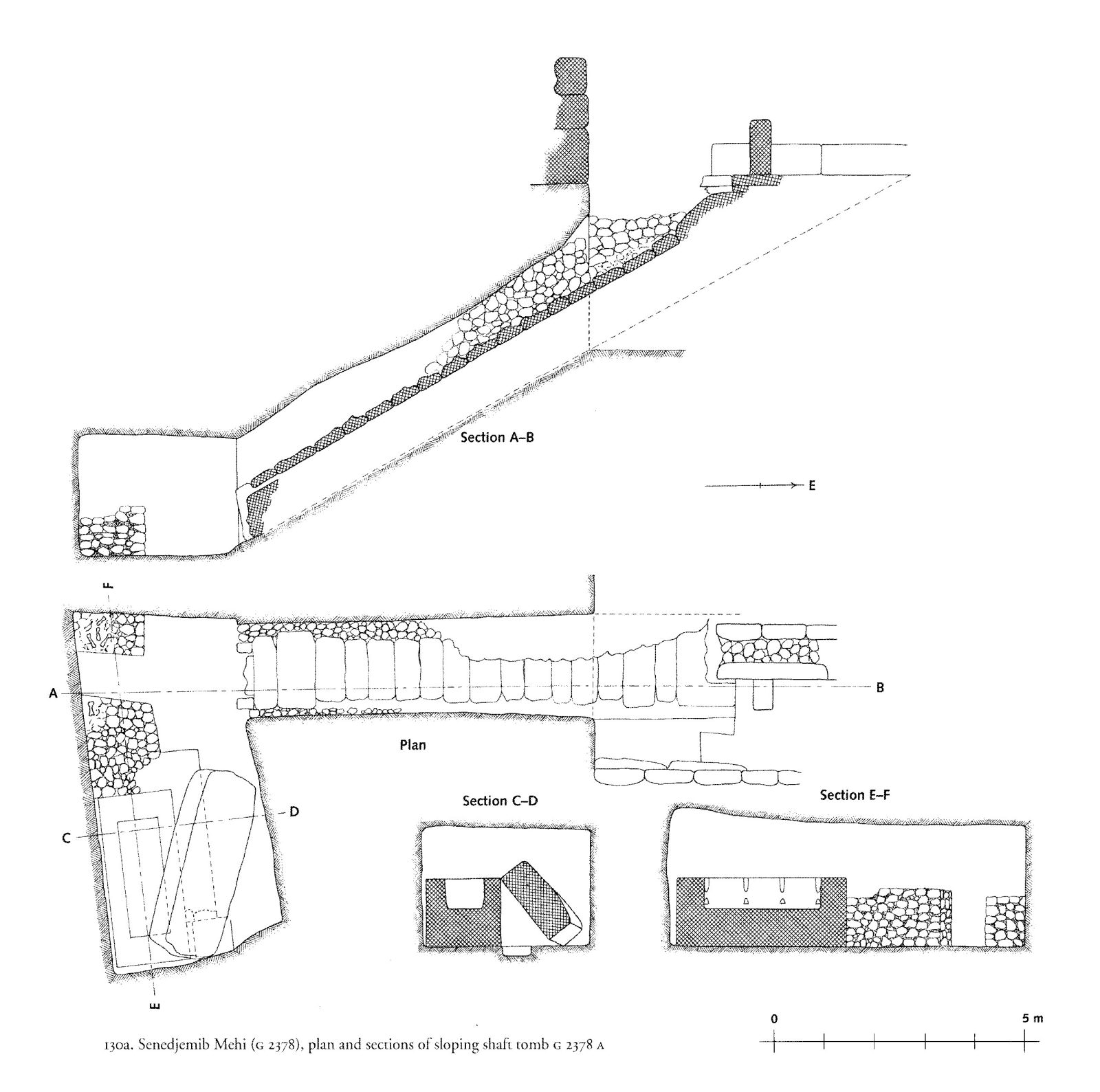 Maps and plans: G 2378, Shaft A
