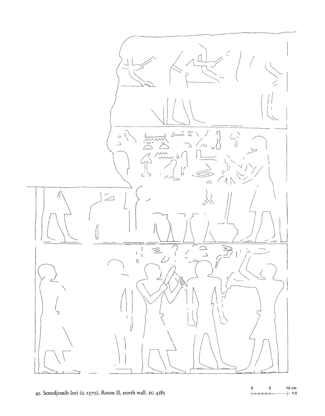 Drawings: G 2370: relief from Room II, N wall