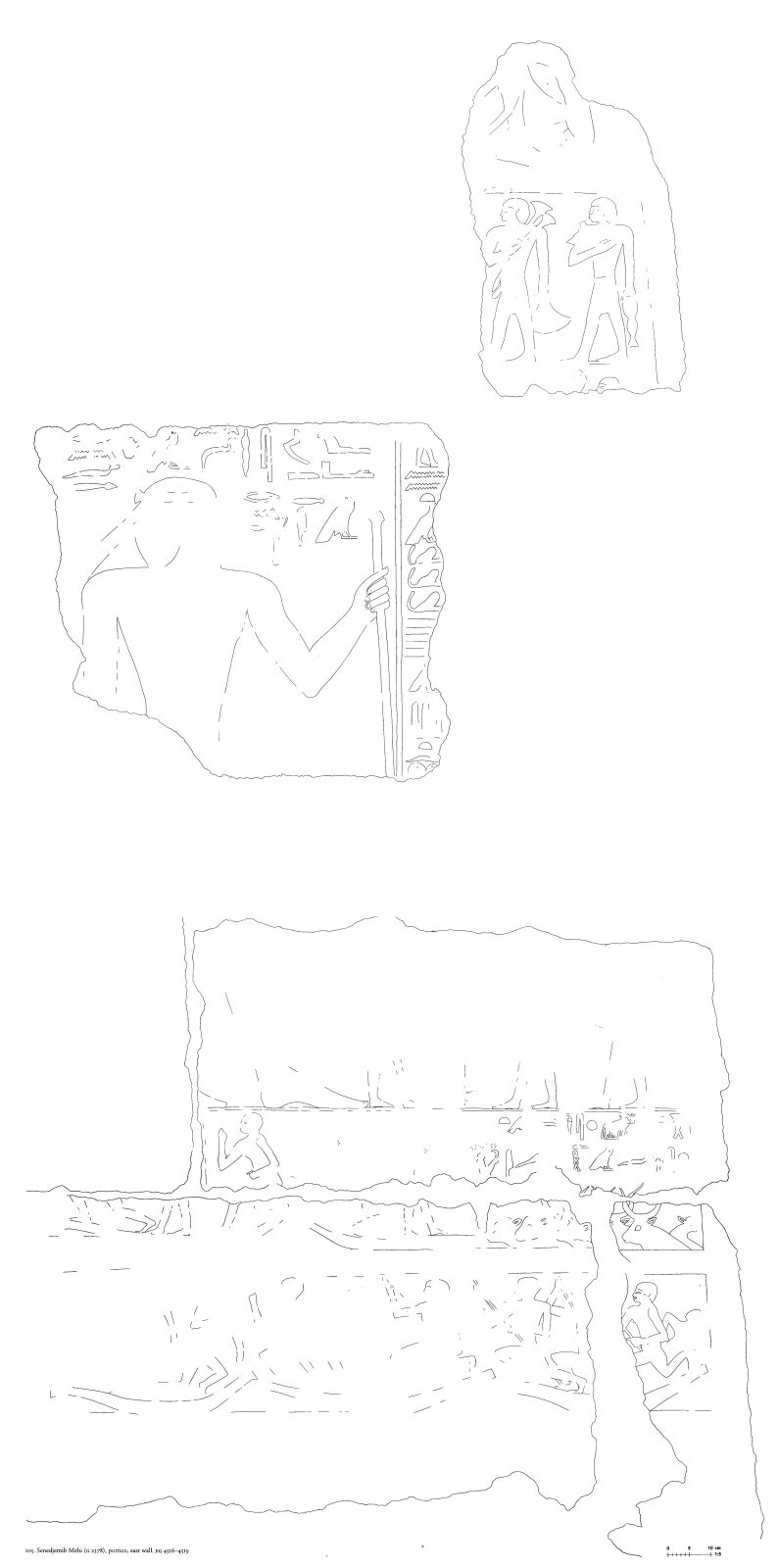 Drawings: G 2378: relief from portico, E wall