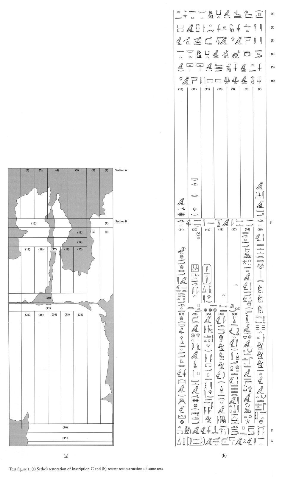 Drawings: G 2370: Inscription C, restoration