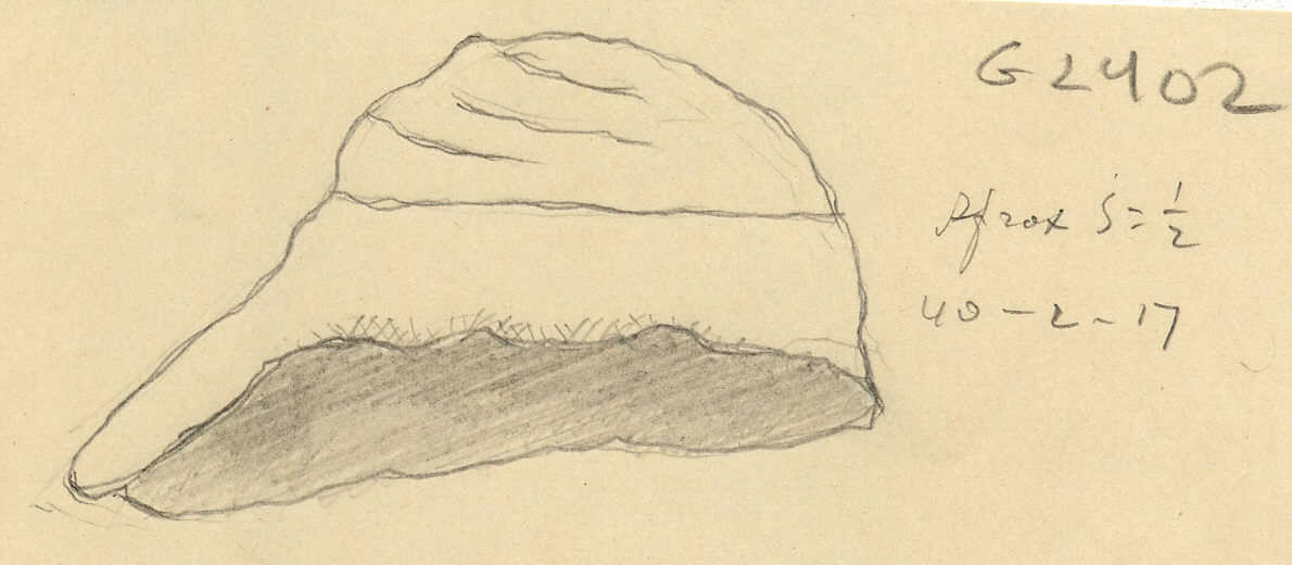 Drawings: G 2402: jar stopper