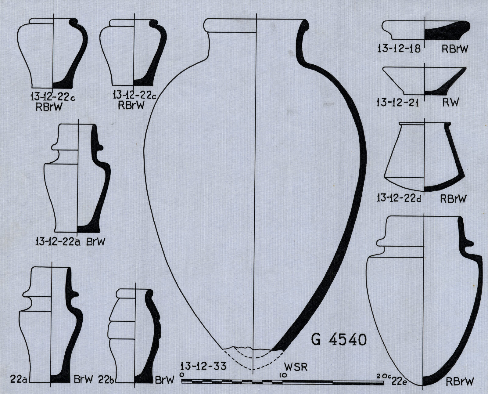 Drawings: G 4540: pottery