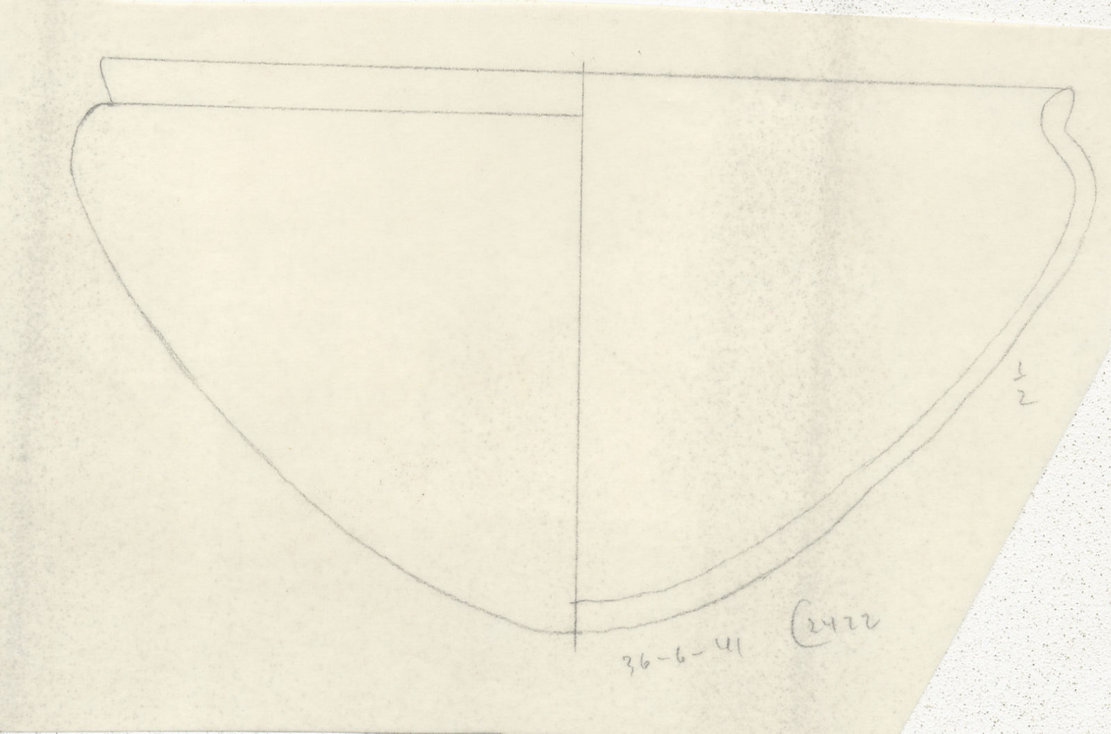 Drawings: G 2422, Shaft A