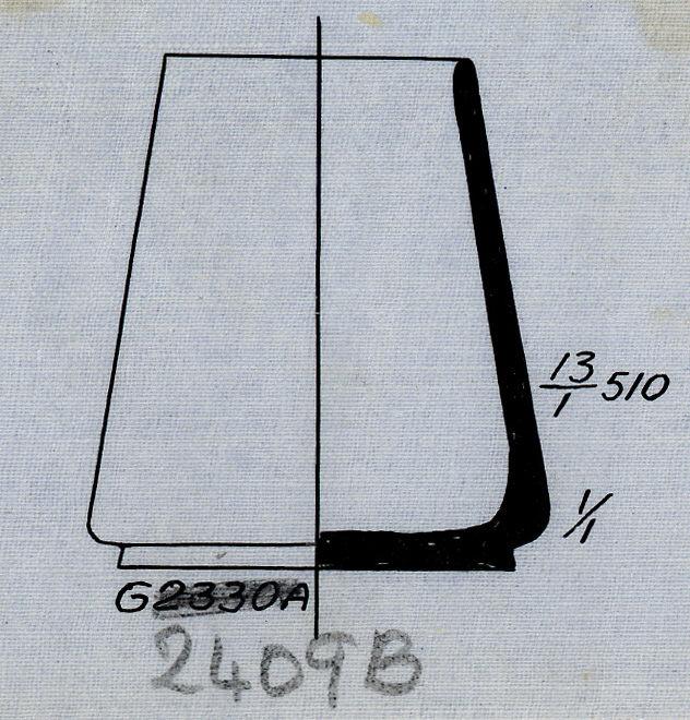 Drawings: G 2409, Shaft B: pottery, model jar
