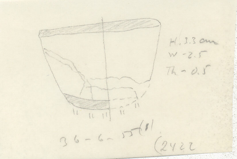 Drawings: G 2422, Shaft D: jewelry element