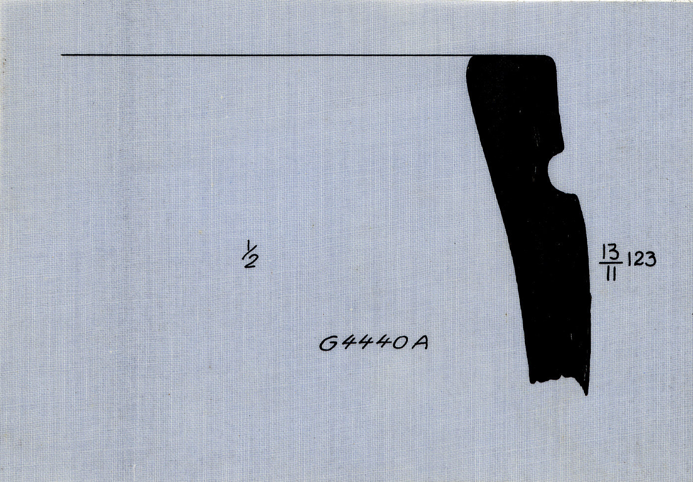 Drawings: G 4440, Shaft A: pottery, basin