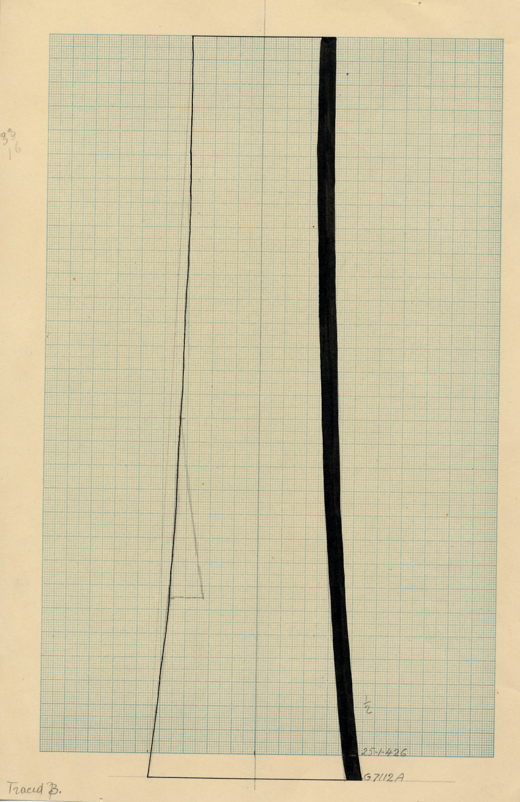Drawings: G 7112, Shaft A: pottery, offering stand