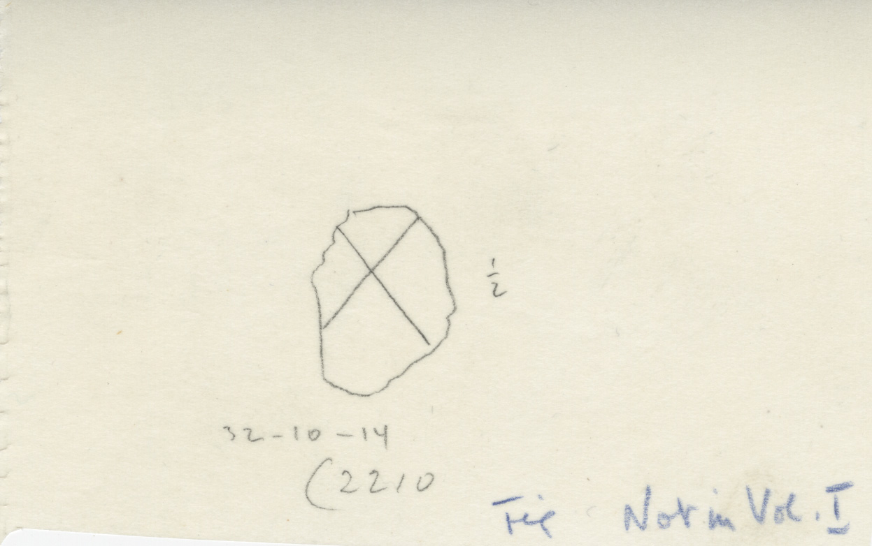 Drawings: G 2210, Shaft A: pottery, jar fragment