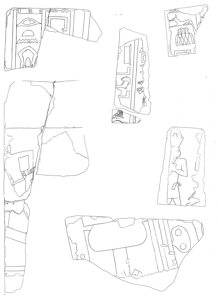 Drawings: G 5110 (= Lepsius 44)relief fragments